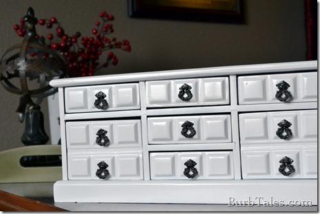 Refinished jewelry box