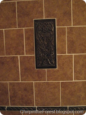 Medallion focal tile
