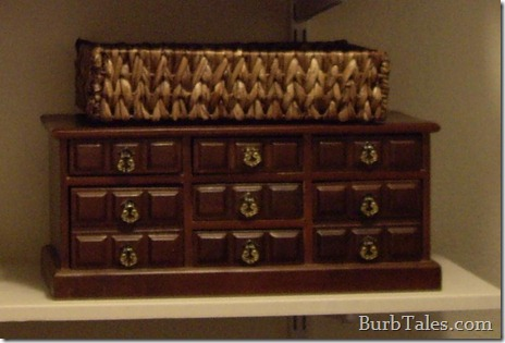 Dated jewelry box before