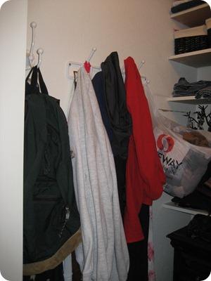 Old cramped closet 4