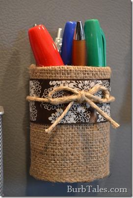 Magnetic pen holder - much better!