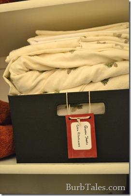 Organized linen closet 1