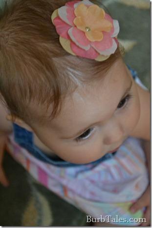 DIY Baby Hair Flower