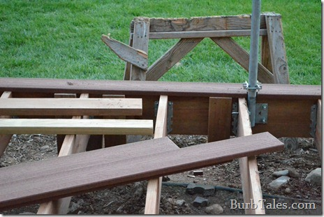 Proper deck framing