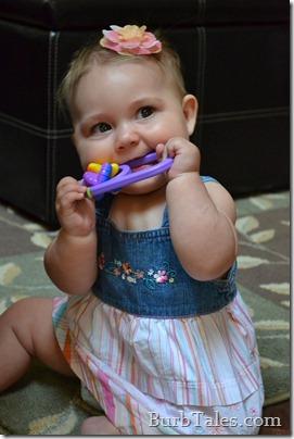 Baby Hair Flower Barrette