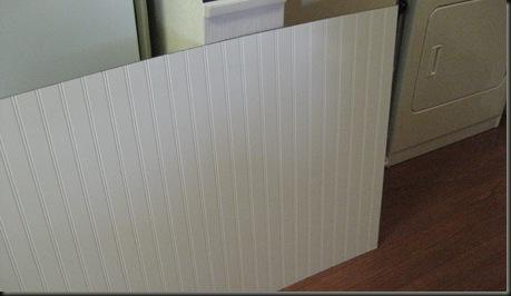 1-Plan B - beadboard paneling