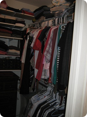 Old cramped closet 3